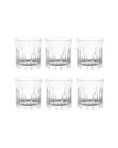 Manhattan vesi/viskilasit 6 kpl